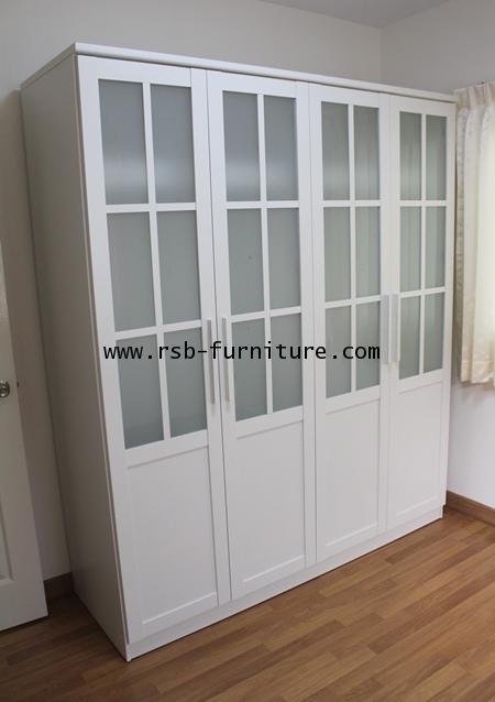 ชุดห้องนอนเน็คต้า เตียงมีทั้ง 5,6 ฟุต ตู้เสื้อผ้า 180 cm 4 บานประตู ราคาพิเศษ 2