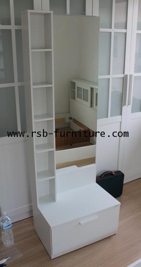 ชุดห้องนอนเน็คต้า เตียงมีทั้ง 5,6 ฟุต ตู้เสื้อผ้า 180 cm 4 บานประตู ราคาพิเศษ 4