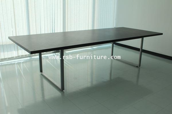 โต๊ะประชุม ขาเหล็กตัว C 8-10 ที่นั่ง ขนาด 330 cm