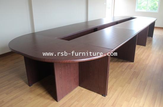 โต๊ะประชุมตัวต่อ จำนวน 22-24 ที่นั่ง W660XD150 CM รหัส 1113