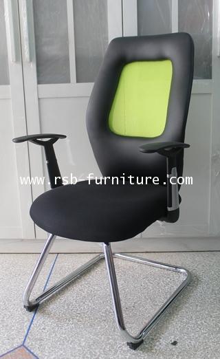 เก้าอี้สำนักงาน เก้าอี้ทำงาน รุ่น 1211 พนักพิงโค้งเว้ารับกับหลัง