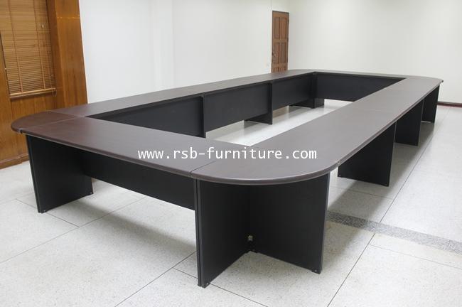 โต๊ะประชุมตัวต่อ จำนวน 24-28 ที่นั่ง W660XD300 CM รหัส 1214