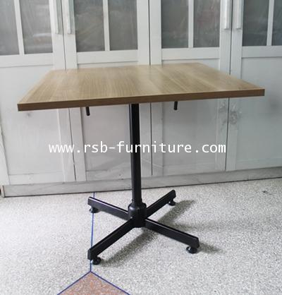 โต๊ะอเนกประสงค์เหล็กหนาพิเศษ หน้าโต๊ะพับเก็บได้  80 cm