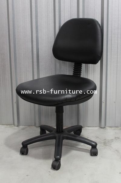 เก้าอี้สำนักงาน ไม่มีแขน รับน้ำหนัก 100 KG รุ่นขายดี รหัส 38