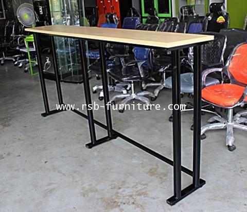 โต๊ะทำงานแบบยืน โต๊ะเก้าอี้บาร์ W230XD40XH110CM รหัส 1574