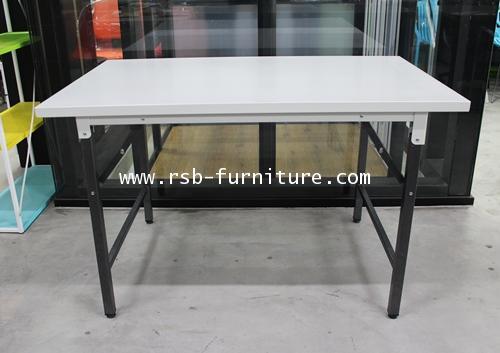 โต๊ะพับอเนกประสงค์ TOP เหล็กหนา ขนาด 122 cm