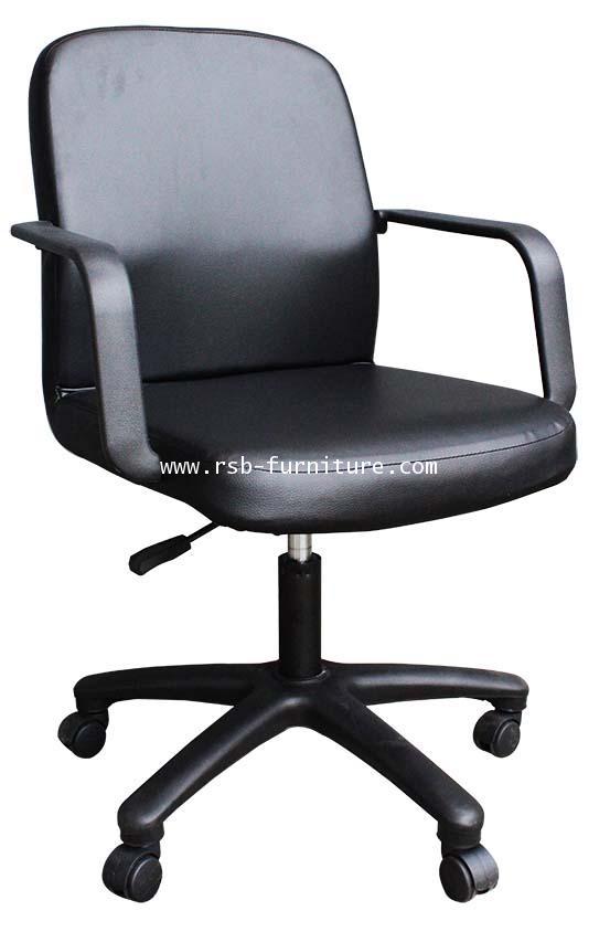 เก้าอี้สำนักงาน พนักพิงหนัง รหัส 1316 รุ่นโปรโมชั่น ราคาส่ง