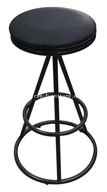 เก้าอี้บาร์ขาเหล็กวงกลม รหัส 1797