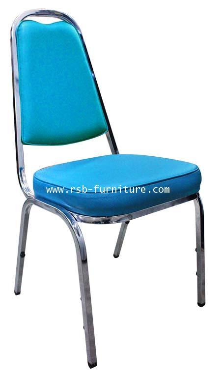 เก้าอี้จัดเลี้ยง เก้าอี้สัมมนา สเปค A เหล็กหนา รหัส 61