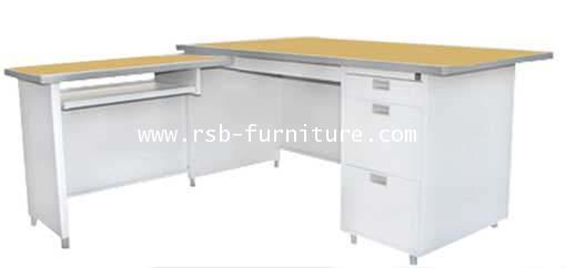 โต๊ะทำงานเหล็กเข้ามุม DP-52-3ADK รหัส 1898