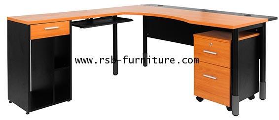 โต๊ะทำงานเข้ามุม MANAGER SET รหัส 1927