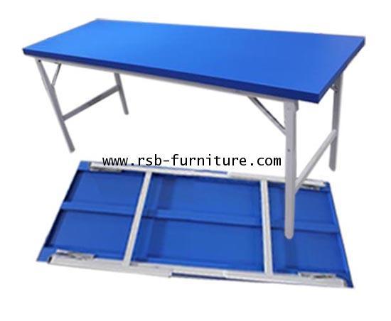 โต๊ะพับอเนกประสงค์เหล็ก Luckyworld 150x60cm และ 180x60cm รุ่น 332