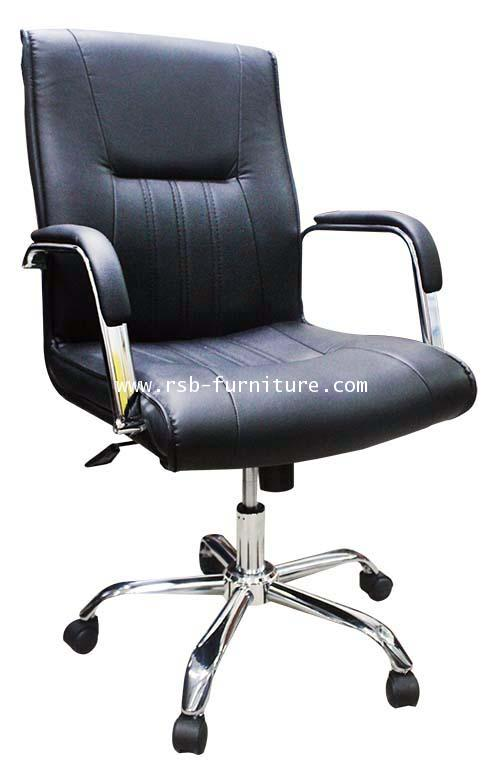 เก้าอี้สำนักงาน เก้าอี้ทำงาน  รุ่น  1373 งานเย็บจีบเบาะ