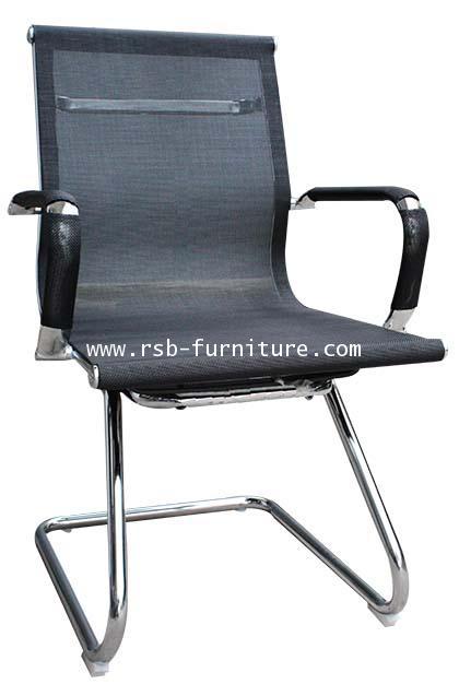 เก้าอี้สำนักงานโครงขาตัวซี MESH SLIM พนักพิงและที่นั่งตาข่าย รหัส 1966