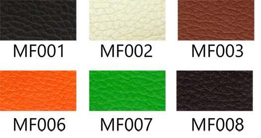 ตัวอย่างสีหนัง MF / m / n