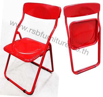 เก้าอี้เหล็กพับ รุ่นโค๊ก ราคาส่งพิเศษ