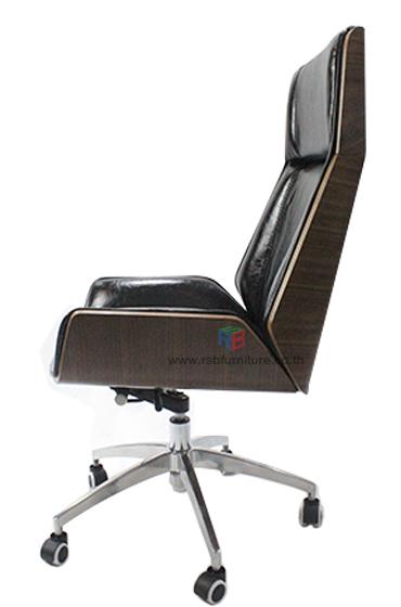 เก้าอี้ผู้บริหาร พนักพิงไม้วอลนัท รหัส 2438