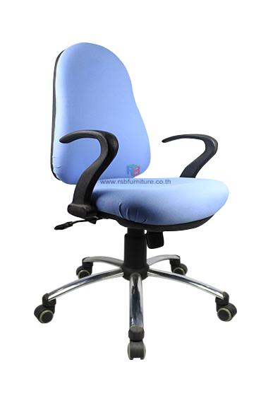 เก้าอี้สำนักงาน รุ่น 1498  นั่งพิงเอนรับกับหลัง