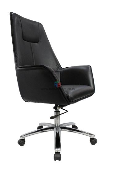 เก้าอี้สำนักงาน เก้าอี้ผู้บริหาร  รหัส 1593 หนังแท้