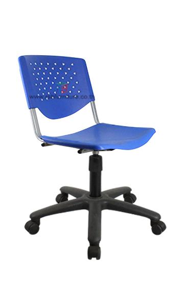 เก้าอี้สำนักงาน พนักพิงเปลือกโพลี รหัส 747