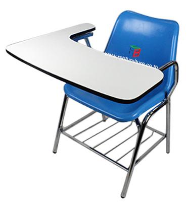 เก้าอี้เลคเชอร์ รหัส 1597 มีคานรับแผ่นเขียน