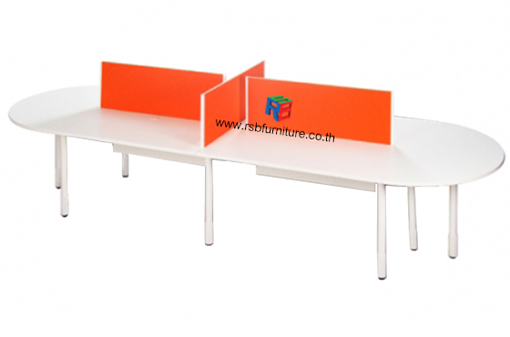โต๊ะทำงานกลุ่ม 360 cm รหัส 2467