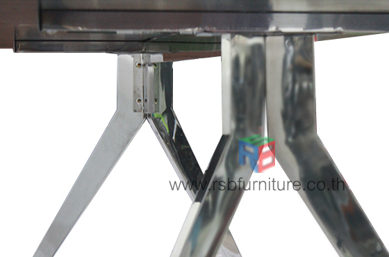 โต๊ะประชุม ขาอลูมิเนียม งาน DESIGN ขนาด W180/220/240 CM รหัส 2517 3