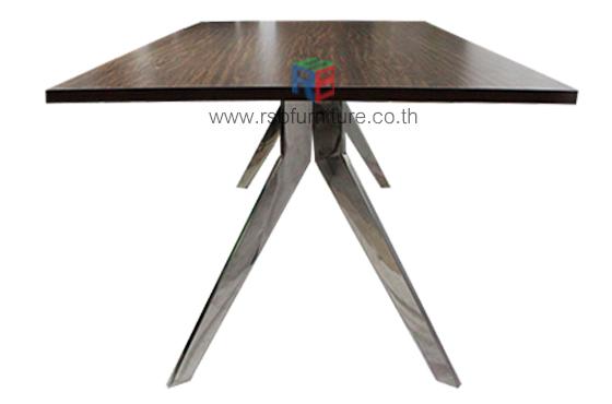 โต๊ะประชุม ขาอลูมิเนียม งาน DESIGN ขนาด W180/220/240 CM รหัส 2517 4