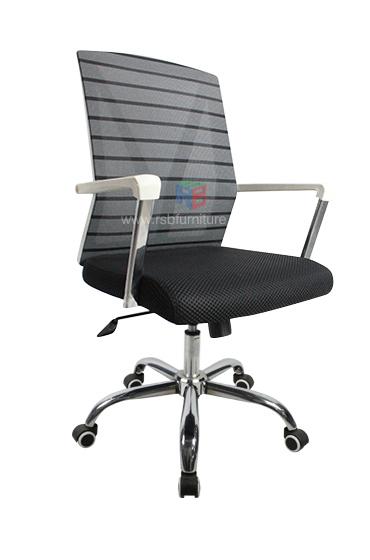 เก้าอี้สำนักงาน พนักพิงตาข่าย รหัส 1934