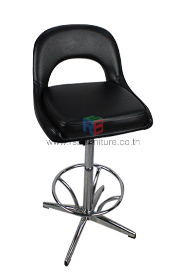 เก้าอี้บาร์ รหัส 1494 โครงเหล็กหนา หมุนปรับระดับได้