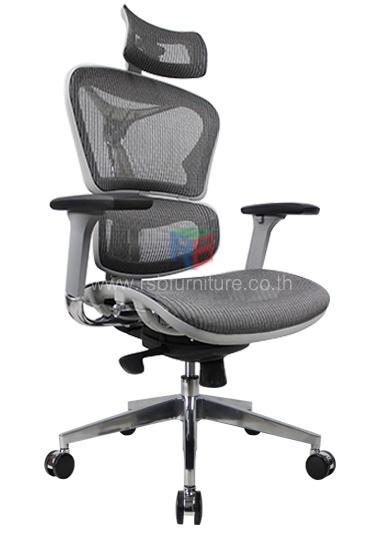 ก้าอี้สุขภาพ ERGONOMIC CHAIR, ERGOHEALTH รุ่น TOP รับน้ำหนัก 150 KG รหัส 2535