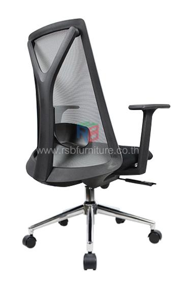 เก้าอี้สุขภาพ พนักพิงตาข่าย เดินโครงตัว Y รับน้ำหนักได้มาก รหัส 2534 3