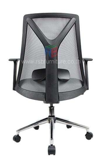 เก้าอี้สุขภาพ พนักพิงตาข่าย เดินโครงตัว Y รับน้ำหนักได้มาก รหัส 2534 5