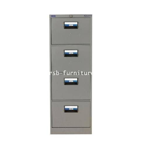 ตู้เหล็ก4ลิ้นชักเก็บแฟ้มแขวน รุ่น FC-204 ขนาด W46.1XD62XH132CM รหัส 1442