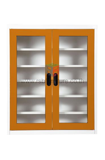 ตู้เหล็กวางรองเท้า KIOSK รุ่น MAX-033 บานเปิด 2 บาน รหัส 2639 4