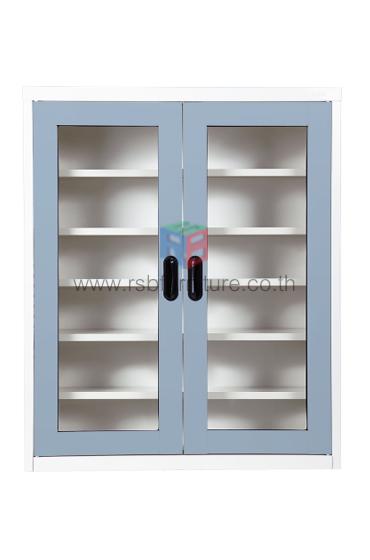 ตู้เหล็กวางรองเท้า KIOSK รุ่น MAX-033 บานเปิด 2 บาน รหัส 2639 6