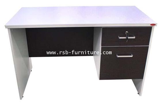 โต๊ะทำงาน W120 X D60 CM 2 ลิ้นชัก รหัส 1745