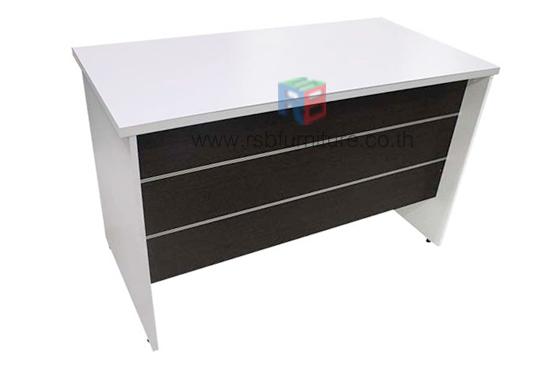 โต๊ะทำงานโล่ง ขาไม้ 120 cm รหัส 2125
