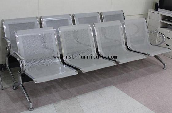 เก้าอี้แถว พนักพิงที่นั่งเหล็ก งานดีไซน์ รหัส 167 มี 2, 3, 4 ที่นั่ง รุ่นขายดี รหัส 167