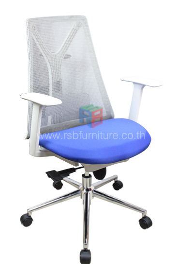 เก้าอี้สุขภาพ พนักพิงตาข่าย เดินโครงตัว Y รับน้ำหนักได้มาก รหัส 2534 6