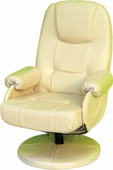 เก้าอี้พักผ่อน ขาจานทรงกลม รับน้ำหนัก 130 KG รหัส 2904