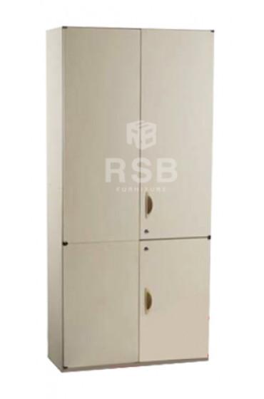 ตู้เอกสารเหล็ก ยี่ห้อ LUCKY ตู้บน - ล่างบานเปิดทึบ ขนาด 90 x 40 สูง 195 cm รหัส 3276