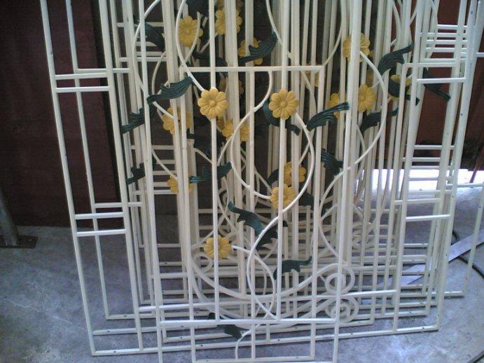 DIY หน้าต่างเหล็กดัดอิตาลี (Wrought Iron Steel  Curved Window )