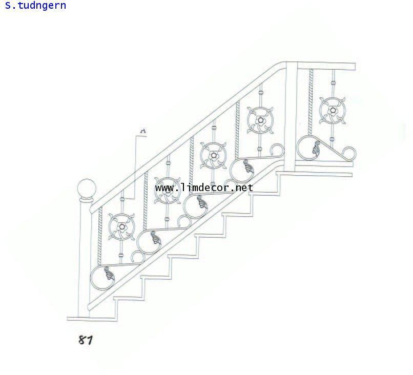 BEST SELLER DIY ราวบันไดสแตนเลส 2 (Stainless Steel Railing/Handrail No.2) 3