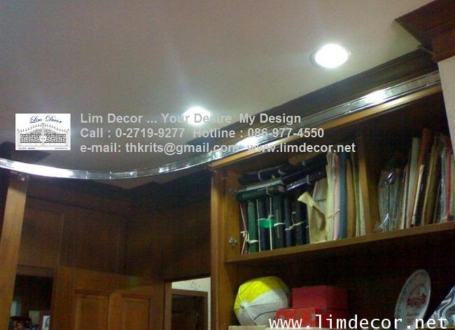 LD-F419 บันไดชั้นหนังสือสเเตนเลสสั่งทำรุ่นClassic Stainless Steel Ladder @Tawanna Hotel Silom Bkk 1