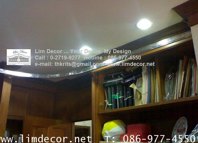 LD-F419 บันไดชั้นหนังสือสเเตนเลสสั่งทำรุ่นClassic Stainless Steel Ladder @Tawanna Hotel Silom Bkk 2