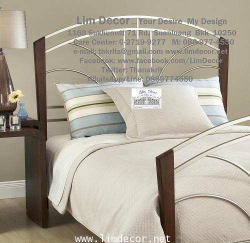 DIY Designed Bed เตียงนอนสั่งทำ พร้อมหัวเตียงเหล็กดัดร้อทไอร์อ้อน (Bedstead Wrought Iron)