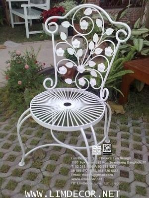 LD-E798 โซฟาร์ม้านั่งสนามอัลลอย Alloy Steel Bench or Sofa Garden Furniture 2