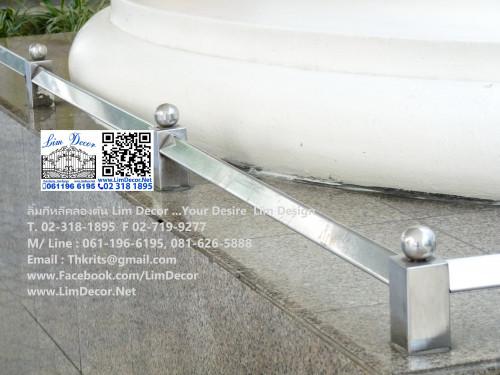 DIY ราวบันไดสแตนเลส Stainless Steel Railing  No.LD-B258 Best Seller Design!!! 3