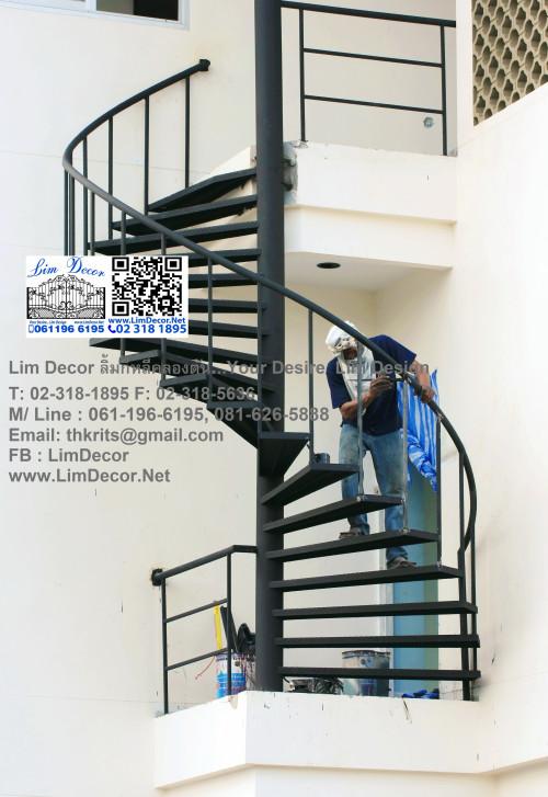 LD-A008 ประตูรั้วสเตนเลสบานสวิง (ปิด-เปิด) Swing Stainless Steel with Alu-Zinc Plate Gate 4
